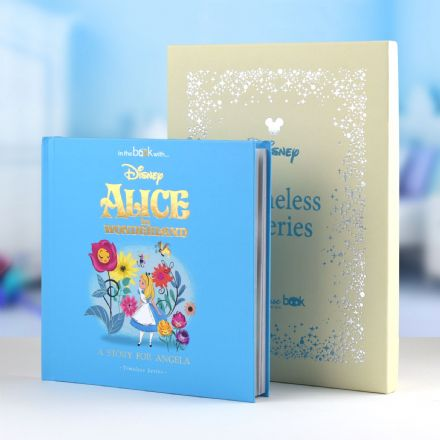 Alice in Wonderland Timeless Disney Book.. Personalised